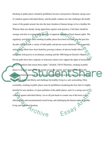Speech Class essay example