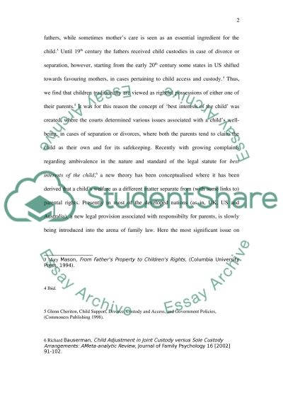 frictions between parents and children essay