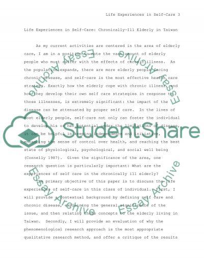 Revising this qualitative research paper essay example