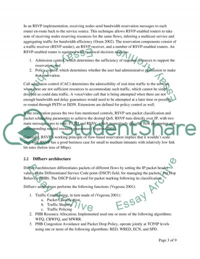 Optimising Network Services essay example