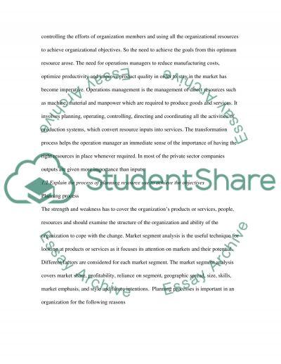 Resouce Management Unit 5004 essay example