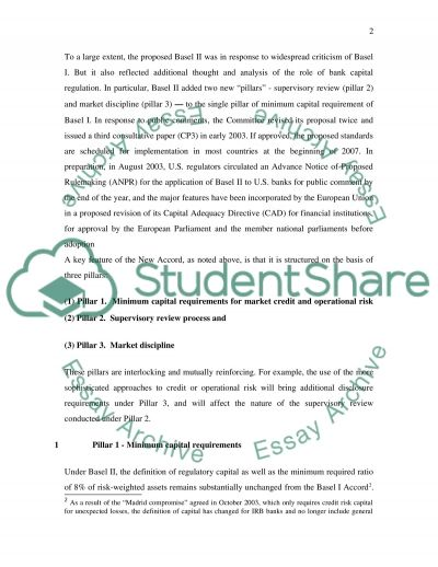 Banking essay example