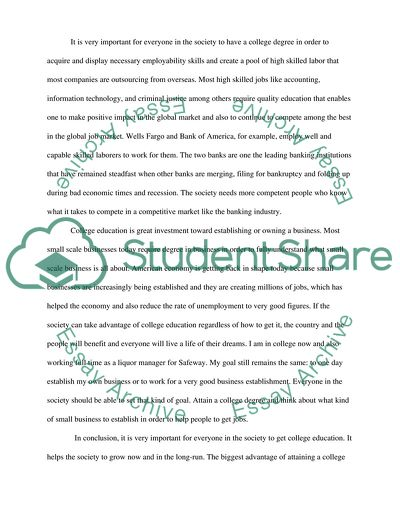 Science And Technology Essays  What Is A Synthesis Essay also Proposal Essay Ideas Value Of College Education Essay Example  Topics And Well  Into The Wild Essay Thesis