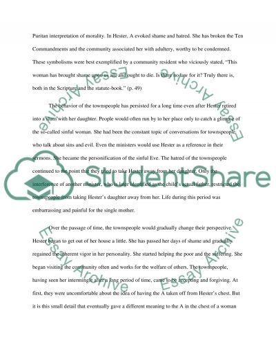 the scarlet letter by nathaniel hawthorne essay example topics  the scarlet letter by nathaniel hawthorne essay example
