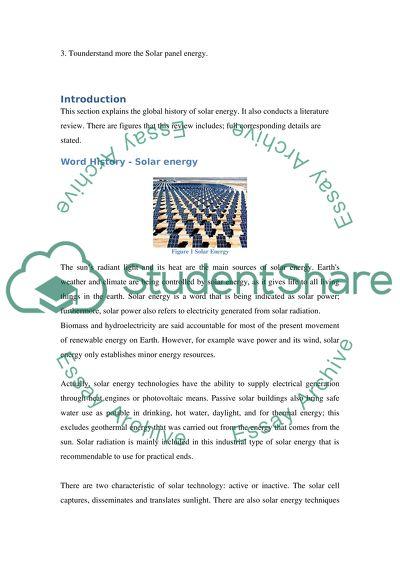 solar energy essay introduction