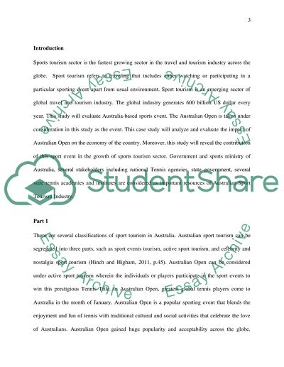 Case study of evaluate an event in the form of a case study