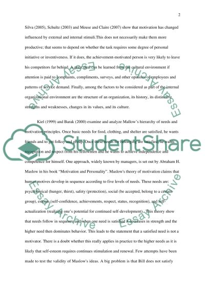 Mackinsey and Company essay example