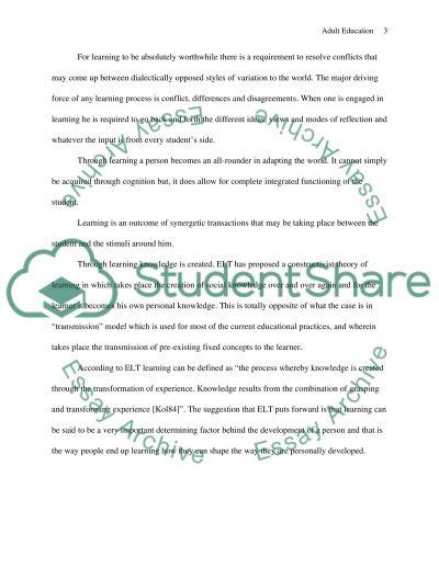 LOVE Curriculum Development in Adult Education