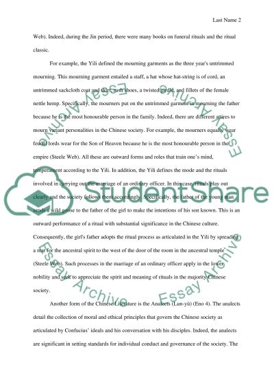 related essays - Example Of Literature Essay