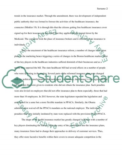 Healthcare Economics essay example