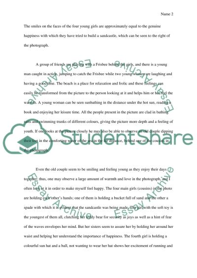 Essay Exam essay example