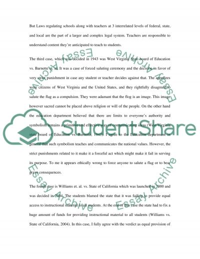 Governance and Effecting Change in Schools essay example