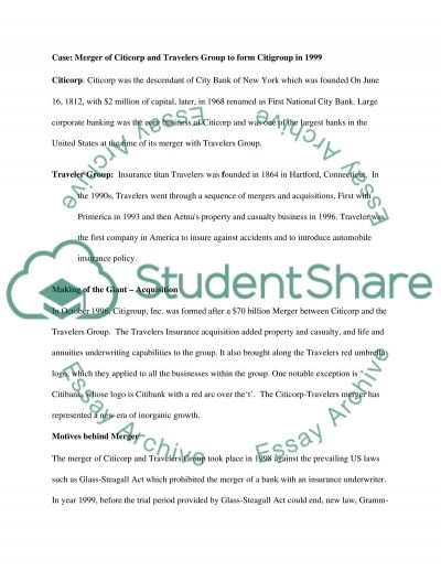 Corporate Restructuring essay example