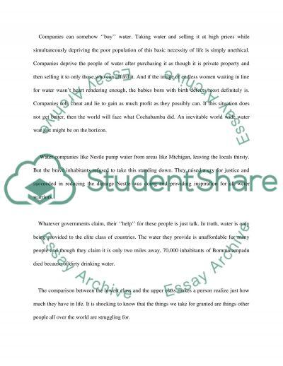 Video essay example