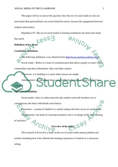 Introduction to social media in the classroom