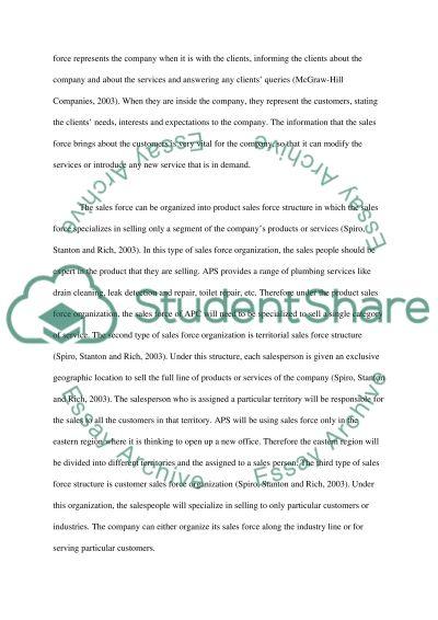 Ariel Plumbing Service essay example
