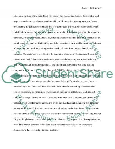 media and ethics essay Free sample essay on media ethics topic: ethical analysis, background, analysis plan etc example of an essay paper about media ethics from writing-expertcom.
