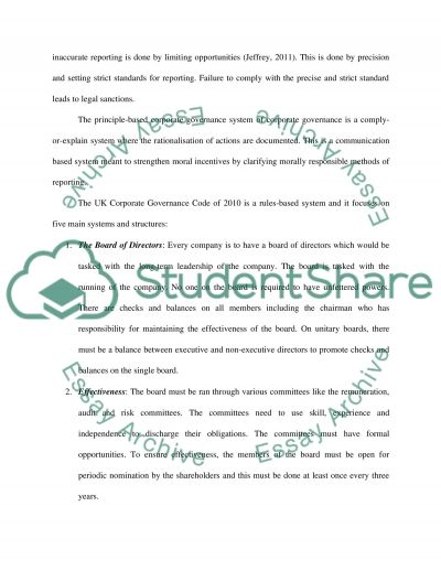 Professional Accountant Essay example