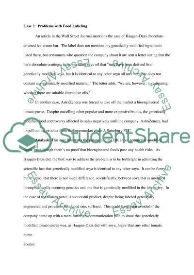 Strategic Marketing Degree Essay essay example
