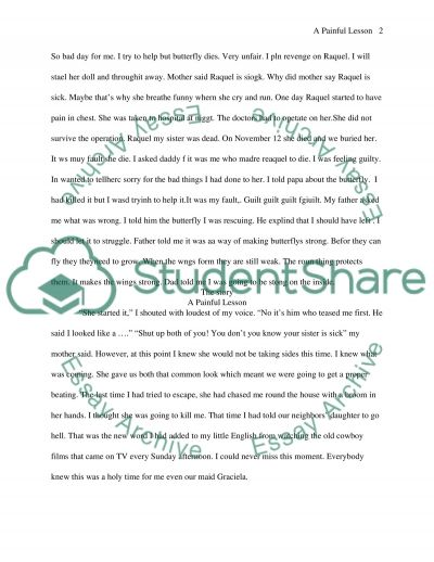 Essay about story