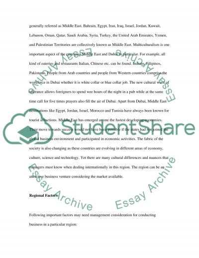 B300 Assignment 6 essay example