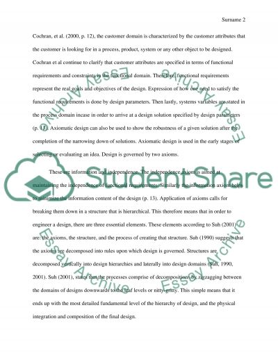 Group Design and Management essay example