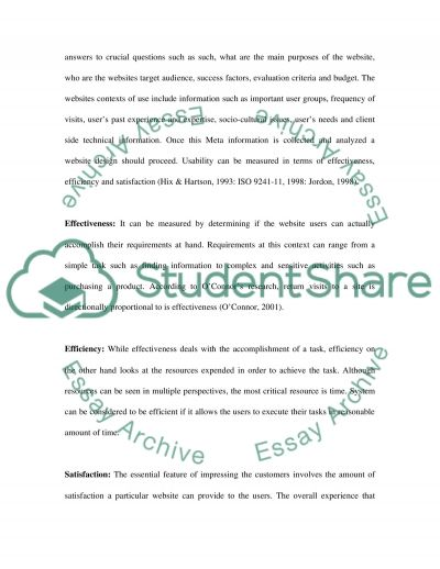 Amazon Website and Usability Issues essay example