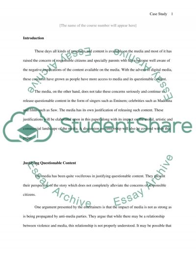 Artistic Freedom, Commercial Demands, and Ethical Responsibility essay example