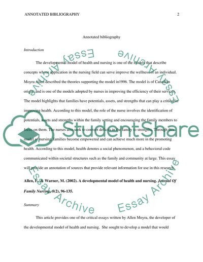 Favorite Person Essay  Reflective Essay Conclusion also Write Compare And Contrast Essay Annotated Bibliography Essay Example  Topics And Well  War And Peace Essay Topics