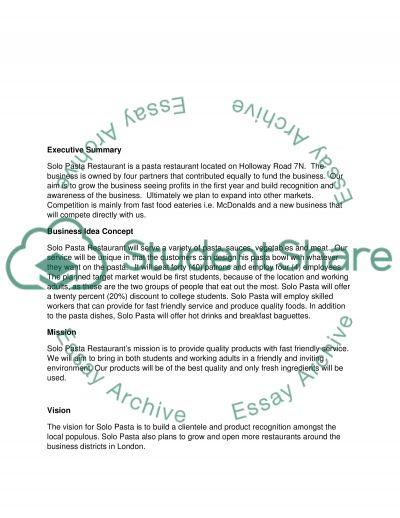 Entrepreneurial Action essay example