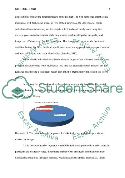 Nike Fuel Band Essay example
