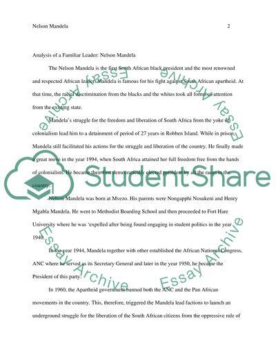 Leadership Profile Paper (communication)