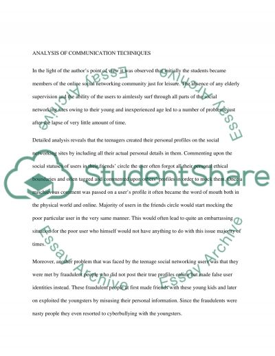 Online social and business networking communities essay example