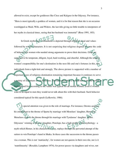 Essay For High School Application Women In Greek Mythology Thesis Statement Descriptive Essay also College English Essay Topics Women In Greek Mythology Essay Example  Topics And Well Written  Fahrenheit 451 Essay Thesis