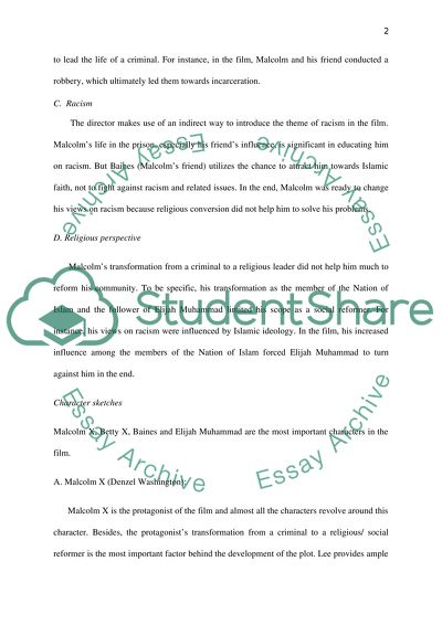 Best Essay Topics For High School Malcolm X Essay Example Topics And Well Written Essays  Words A Level English Essay Structure also Exemplification Essay Thesis Malcolm X Essay Introduction  Mistyhamel Environmental Science Essay
