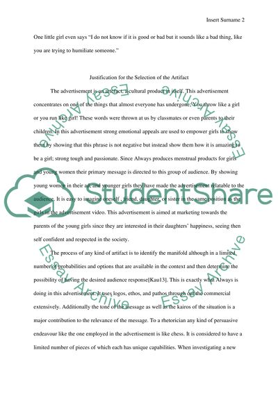 rhetorical artifact term paper essay example  topics and well  rhetorical artifact term paper