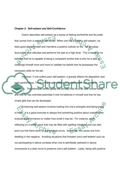 Human relations essay example
