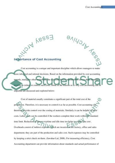 importance of accounting essay Free essays importance of financial information to stakeholders accounting essay connecting budget with policy objectives accounting essay leave a comment.