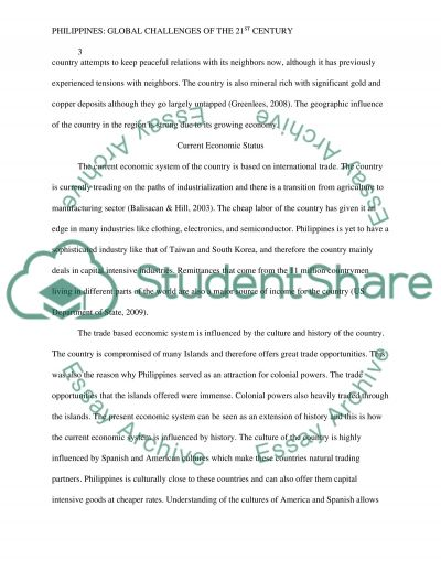 challenges of the 21st century essay Intelligence missions and capabilities: challenges of the 21st century - essay example.