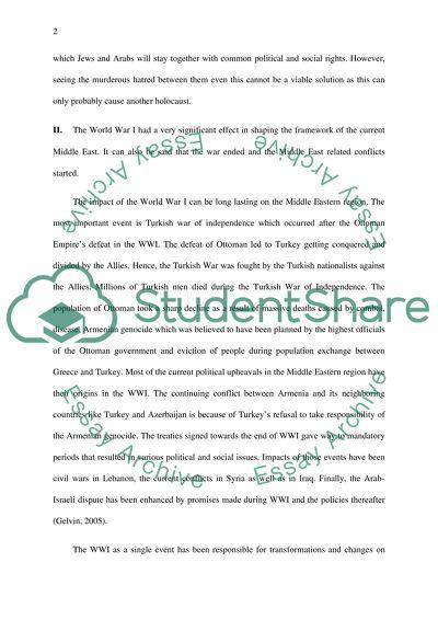 Final Essay Examination