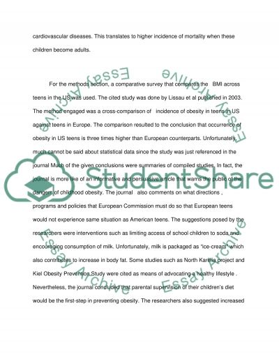 Journal research essay example