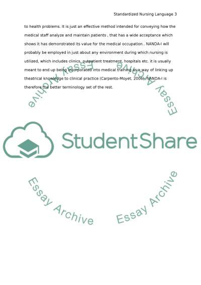 Community nursing essay example