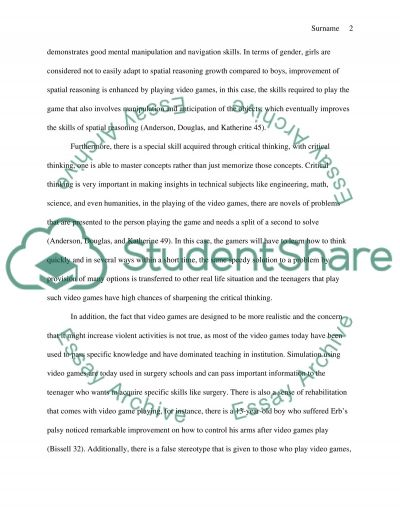 The library research essay