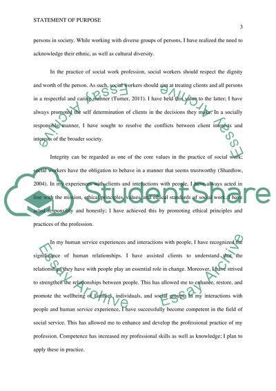 social work personal statement undergraduate