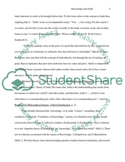 Healthy Diet Essay Ways Of Knowing And The Truth Japanese Essay Paper also Narrative Essay Thesis Ways Of Knowing And The Truth Essay Example  Topics And Well  Examples Of Essay Papers
