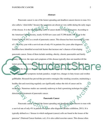 Example of a proposal essay