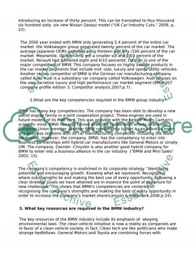 Term paper scenario solution