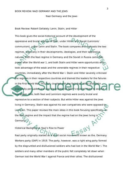 Hitler and stalin essay
