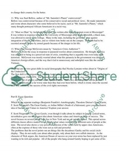 FEX_HUM310 essay example