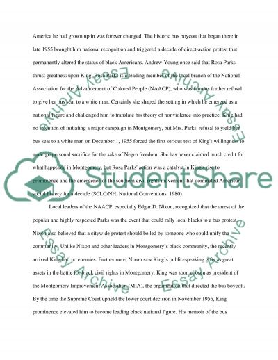 Martin Luther King College Essay essay example
